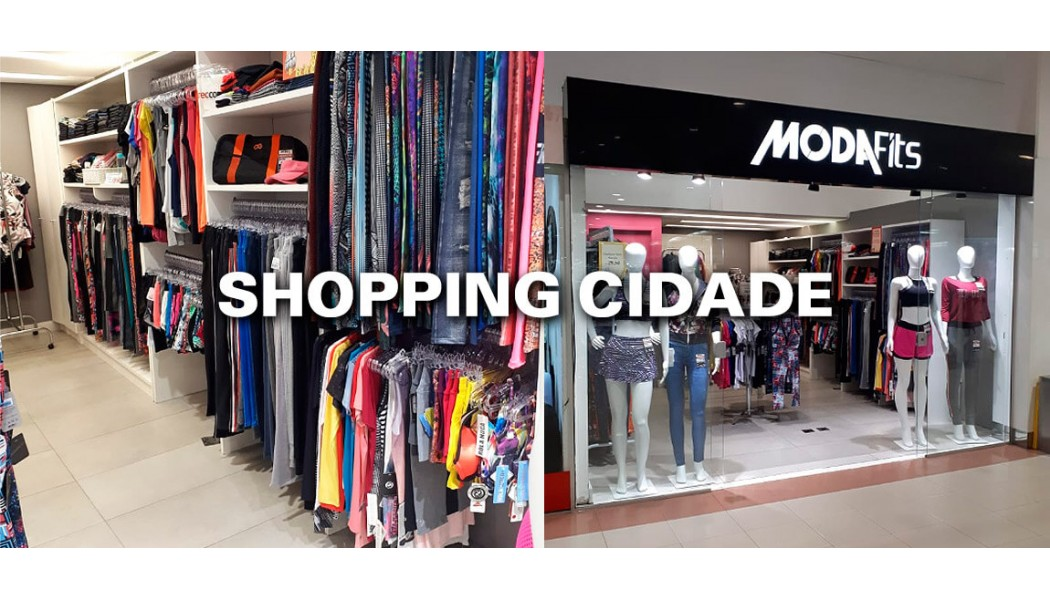 Moda Fitness no Shopping Cidade