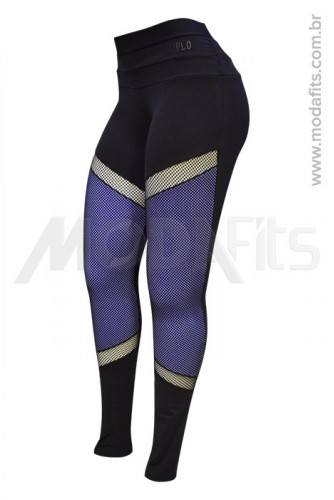 Calça Legging Modeladora Salto Triplo Supplex 35012.002