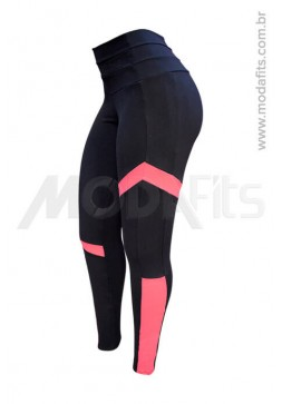 Calça Legging Modeladora Salto Triplo Supplex 35034.002