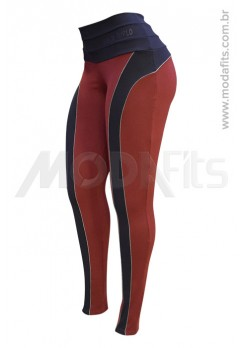 Calça Legging Modeladora Salto Triplo Supplex 35064.144