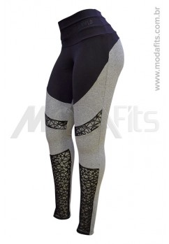 Calça Legging Modeladora Salto Triplo Supplex 35075.002