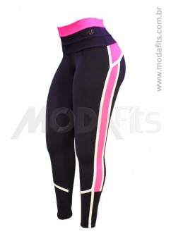Calça Legging Modeladora Salto Triplo Supplex 35212.002