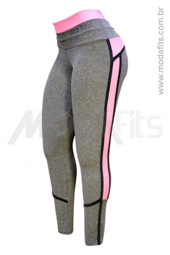 Calça Legging Modeladora Salto Triplo Supplex 35212.034