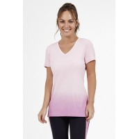 T-Shirt Alto Giro Skin Fit Degradê Rosa Meditation - 2011740