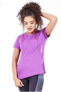 T-Shirt Alto Giro Skin Fit Fresh Start - 2041701