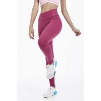 Calça Legging Alto Giro Supplex Termo Alta Compressão Rosa Antique - 2011302