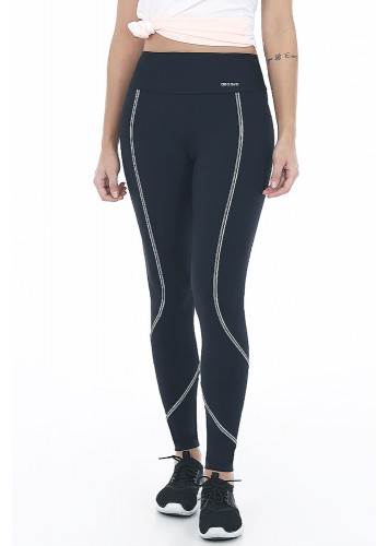 Calça Legging Alto Giro Body Tex Breeze Barriga Zero - 2042301