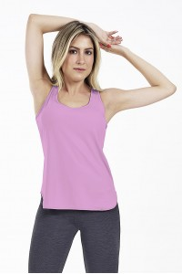 Regata Alto Giro Skin Fit Alongada Rosa - 2011602