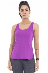 Regata Alto Giro Skin Fit Alongada Roxo Summer - 2031602