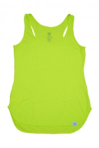 Regata Alto Giro Skin Fit Alongada Amarelo Lemon - 931602