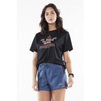Short Alto Giro Montana Tech Denim - 2032041