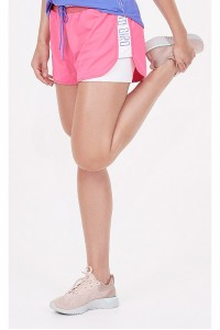 Short Duplo Alto Giro Summit Sobreposto Light Com Ribana Rosa - 921001