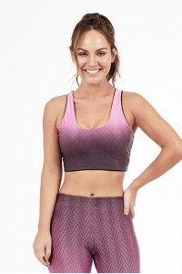 Top Alto Giro Light Dupla Face Rosa Happiness - 2011533