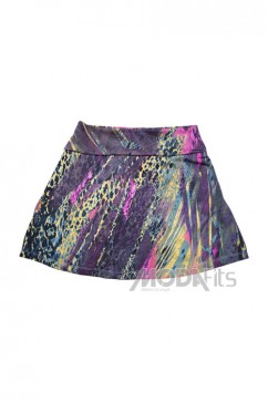 Short Saia Arrazantty - 110008-06 Estampado
