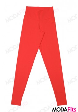 Calça Legging Dusell Cigarrete Fit Lisa Orange