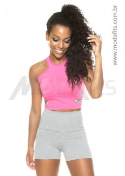Regata Cropped Estilo do Corpo Iris - 7473 Pink