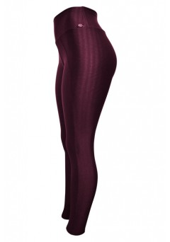 Calça Legging Janfer New Zig 3D - 0384 Bordo