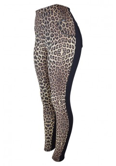 Calça Legging Montaria Life Way Animal Print Com Bolso - 12405