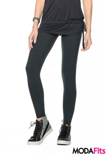 Calça Legging Live Fusô Color Active Chumbo - P3412