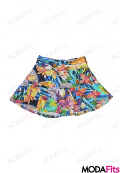 Short Saia Oxyfit Estampado - 21182-2