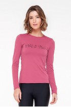 Blusa Rolamoça Ultracool Fit Rosa - 01400-RS27PT