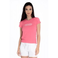 Baby Look Rolamoça Ice Rosa - 30129-RS05BC