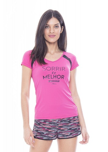 Baby Look Rolamoça Ultracool Fit - 30154-RS04PT