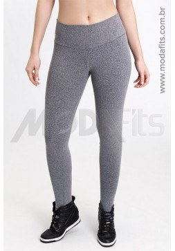 Calça Legging Rolamoça Supplex Mescla - 06256-ME73
