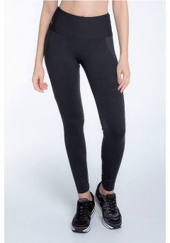 Calça Legging Rolamoça Supplex Com Recortes - 06406-PT