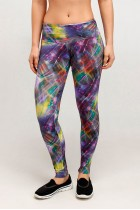 Calça Legging Rolamoça Supplex Estampada - 06125 DG96
