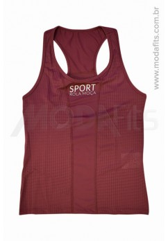 Regata Rolamoça Moving Sport Dry 02315 Bordo