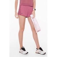 Short Rolamoça Duplo Ultracool Fit Rosa - 12209-RS27