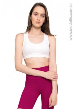 Top Rolamoça Aqua Fit Branco - 04107-BCPR