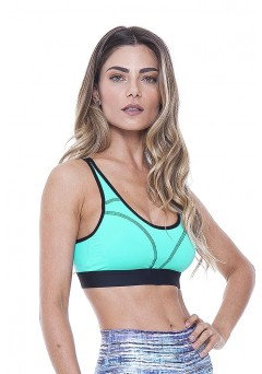 Top Rolamoça Aqua Fit -04168-VD14PT