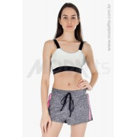 Top Rolamoça Aqua Fit Branco - 04218-BCPT