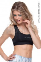 Top Rolamoça Aqua Fit -04107-PT- Preto